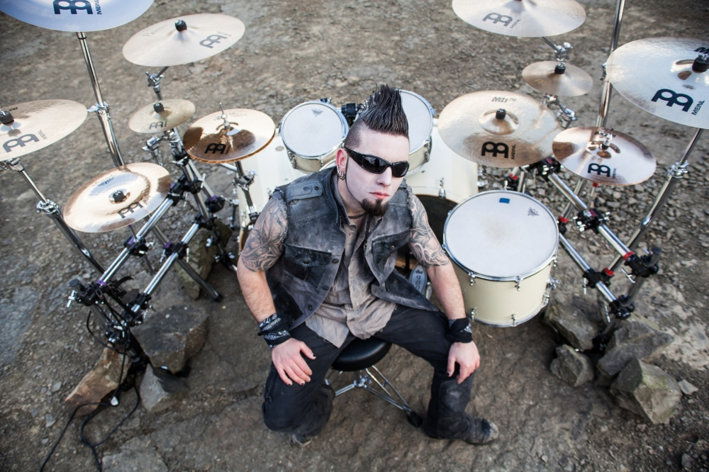 Needles The Defiled As I Drown Video Shoot