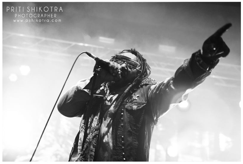 Skindred - Manchester Academy 02.02.14
